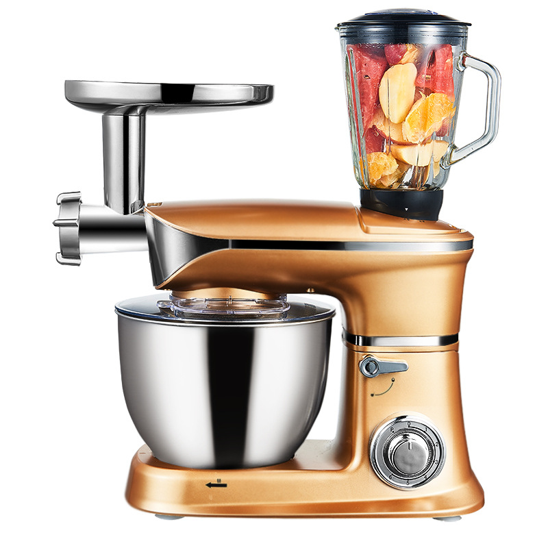 Multi-functional Stand Mixer Planetary Mixer Electric Egg Beater Automatic Blender Kneading Dough Chef Machine SC-262C