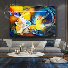 Embelish 1 Pieces Abstract Wall Art Pictures For Living Room Modern Home Decor Famous Artworks By Picasso HD Canvas Oil Painting