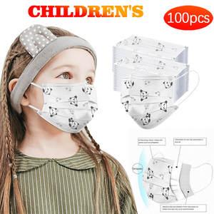 Towels Handkerchief Head-Towels-Bandana Disposable Kids Fashion 100PC Foulard Sunscreen-Silk