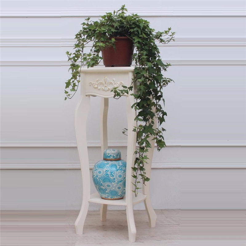 For Wood Plantenrekken Ladder Table Saksi Standi Soporte Plantas Interior Balcony Rack Stojak Na Kwiaty Flower Plant Shelf