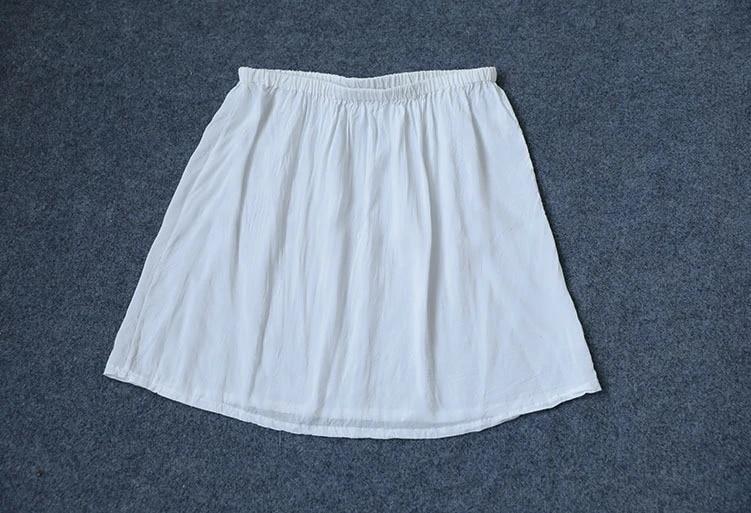 Blue Cotton Petticoat Skirt