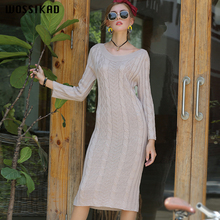 Boho Dress Women Twistedeate Dresse Woman Omen Elegant Designer Runway 2019 Long Fund Knitting Vobe Ropa Mujer
