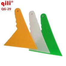 120pcs/lot Qili QG-29  Floor Clean Tool Scraper Glass Window Squeegee Car Squeegee Vinyl Installation Tool For Car Wrap Tool