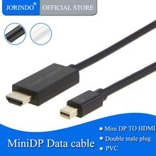 Active Mini DP a HDMI JORINDO Mini DisplayPort (DP1.2) a HDMI Cable DP a HDMI 4K X 2K y 3D Audio/vídeo