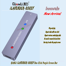 QIANLI iLAVENDER-OSKEY One-click into DFU Mode One Button Purple Screen Read Write Serial
