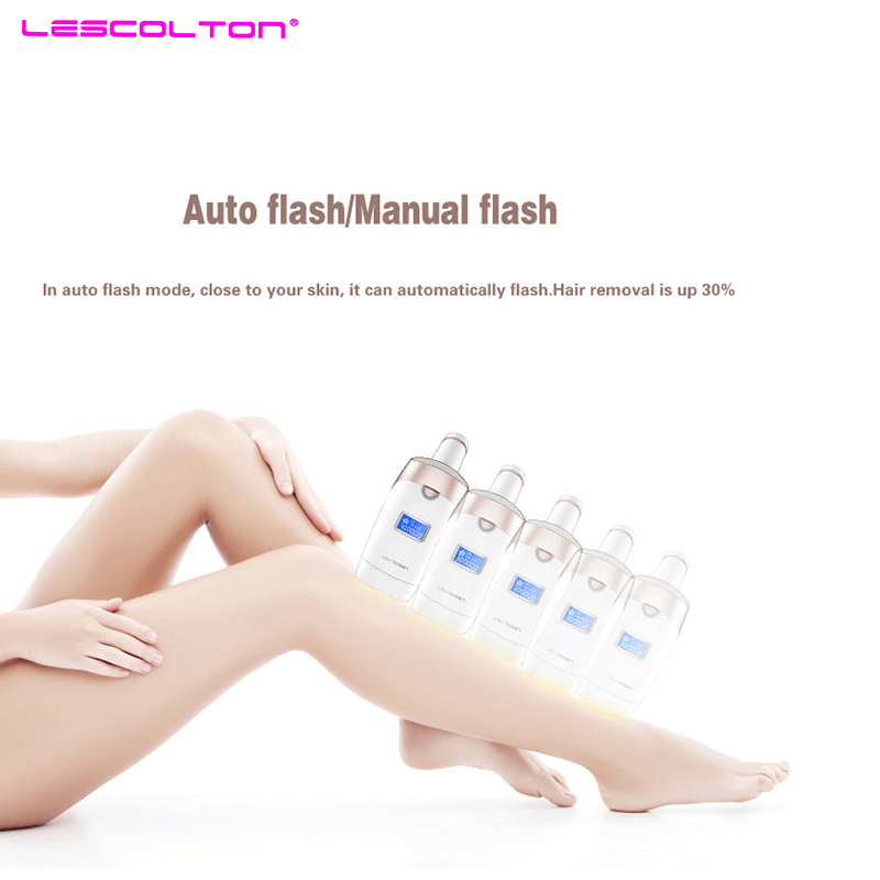 Lescolton IPL Laser Hair Removal Device for Permanent Hair Removal of Armpit Hair with 700000 Flashes 3