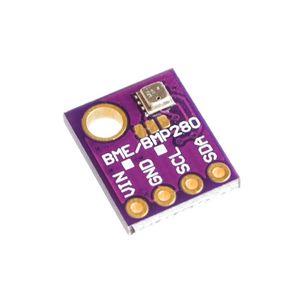 Image 2 - 10ピース/ロット3In1 BME280 GY BME280デジタルセンサーspi I2C湿度温度と気圧センサーモジュール1.8 5v dc