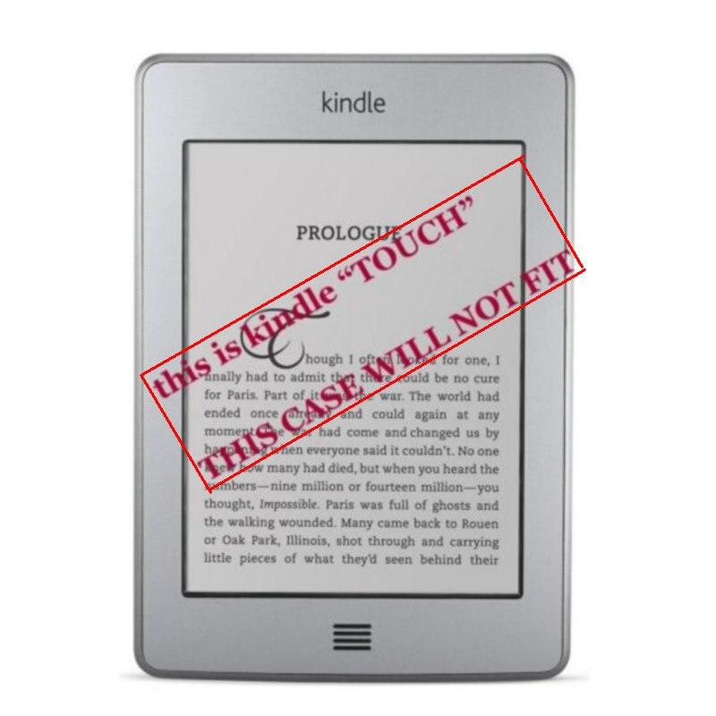 1 шт. кожаный чехол для Amazon Kindle 4/5 электронная книга читатель 6 дюймов (не подходит для kindle touch)-2