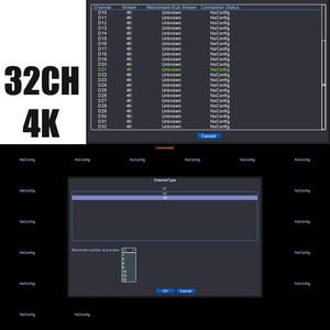 Image 5 - H.265 32CH 4K NVR 네트워크 DVR 디지털 비디오 레코더 보드 IP 카메라 최대 8T 모션 감지 OVNIF CMS XMEYE SATA 라인 P2P 클라우드