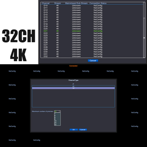 Image 5 - H.265 32CH 4K NVR شبكة DVR مسجل فيديو رقمي مجلس IP كاميرا ماكس 8T كشف الحركة OVNIF CMS XMEYE SATA خط P2P سحابة
