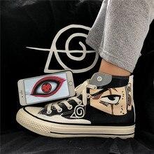 Anime Naruto Canvas Shoes Sasuke Men Vulcanized