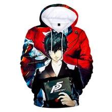 Luxury Popular Creative Cartoon Anime Persona 5 3D Hoodies Sweatshirts Men/Women Long Sleeve Hoodie Casual Sweatshirt Pullovers