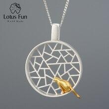 Lotus Fun Real 925 Sterling Silver Handmade Design Fine Jewe