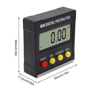 Image 5 - R&D 360 Degree Mini Magnetic Digital Inclinometer Level Box Gauge Angle Meter Finder Protractor Base Measuring Tools