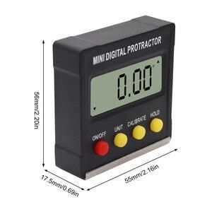 Image 5 - R & D 360 derece Mini manyetik dijital inklinometre seviyesi kutusu ölçer açı ölçer bulucu İletki taban ölçme araçları