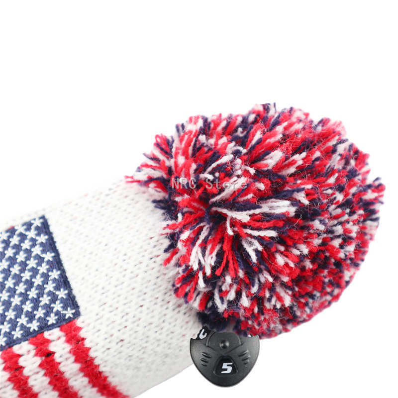 1 шт. головные уборы для гольф-клуба, гибрид, США, трикотаж с поворотным ярлыком