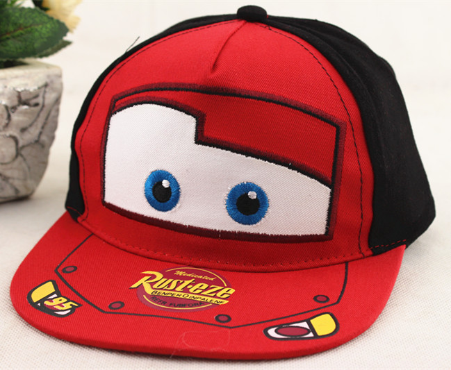 Disney Children's Cartoon Car Breathable Sun Hat Cap Boy Girl Baseball Cap Sun Hat