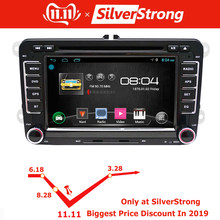 SilverStrong 2Din Android9.0 автомобильный dvd-плеер для Volkswagen PassatB6 B7 для Golf MK5 MK6 автомобильный Android DVD gps для Vento радио 65DS(Hong Kong,China)