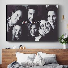 Friends TV Series Movie Art Canvas Art Print Painting Modern Wall Picture Home Decor Bedroom Decorative Posters No Frame(China)