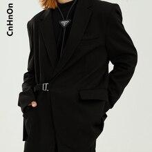 Autumn new product Korean casual loose solid color design fashion suit men M6-BC-1828