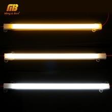 10PCS LED Bar Light 72LEDs 220V LED Tube Light Clear Shell Milky White Shell 30cm 50cm Warm Cold Day White Kitchen Under Cabinet