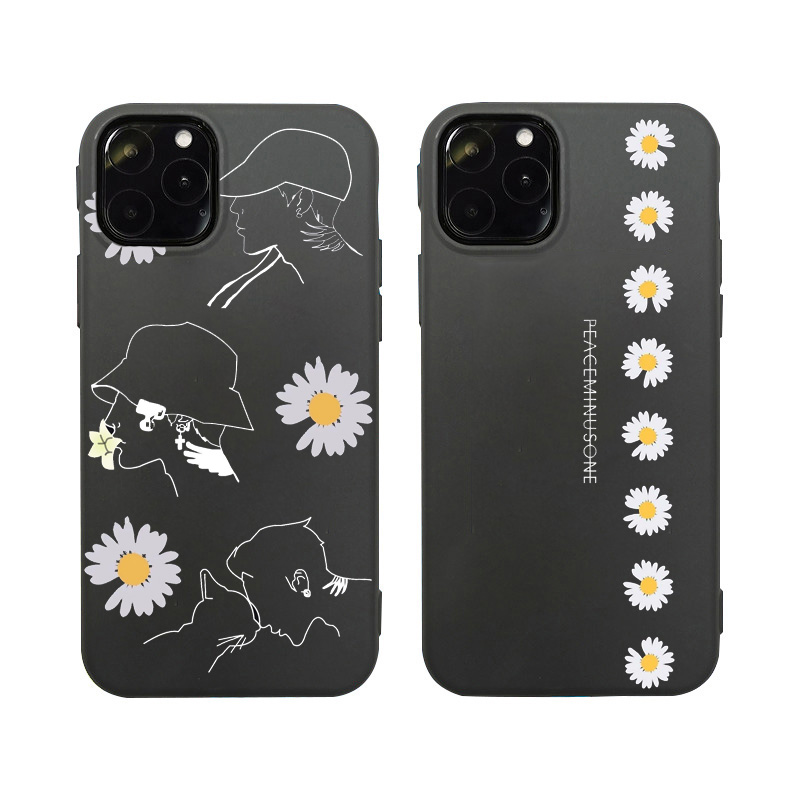 Cute Daisy Flower Phone Case For Huawei P40 P30 P20 Lite Mate 30 Pro 20 P Smart Nova 5T 3 For Honor 20 10 8X 9X 7A 8A V20 Cover