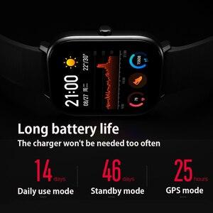 Image 3 - Умные часы Amazfit GTS, глобальная версия, водонепроницаемые до 5 АТМ, 14 дней автономной работы, GPS, спортивные часы huami для телефонов xiaomi и IOS