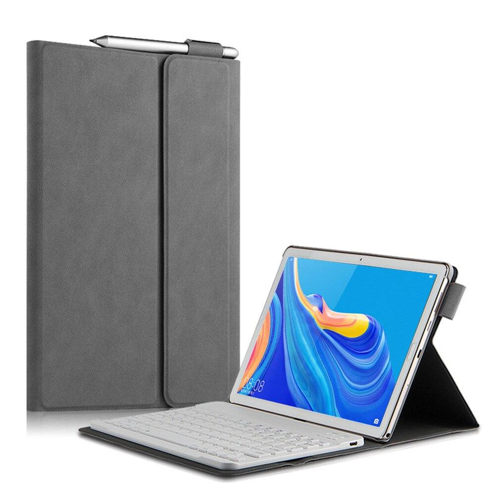 Bluetooth Keyboard Case For Huawei Mediapad M5 Lite 10.1 BAH2-L09/W19/W09 Wireless Keyboard Cover