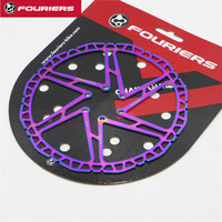 Fouriers BR D1P 2 MTB Mountain Bike Disc Brake Rotor 160mm/180mm/203mm