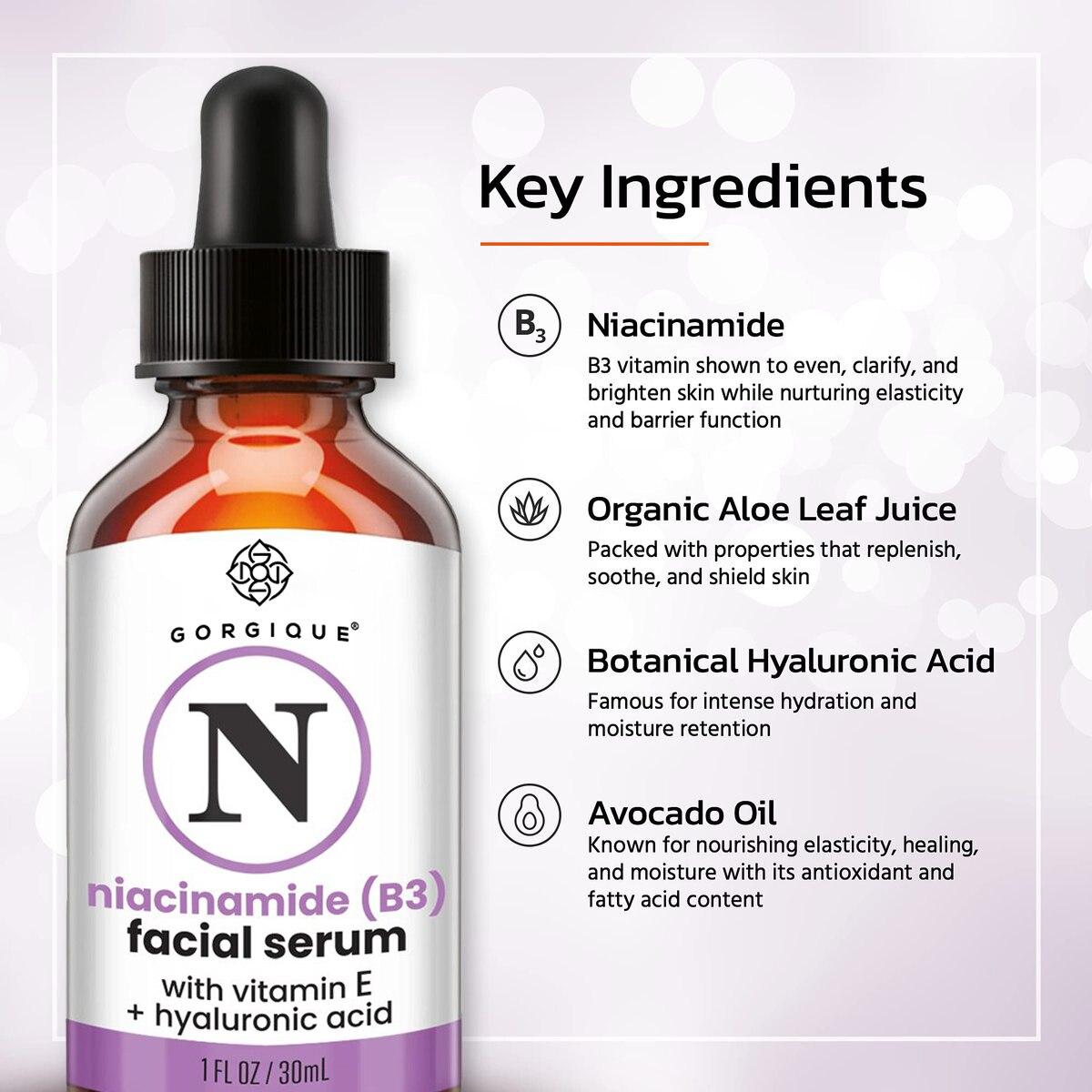 GORGIQUE B3 Niacinamide Stock Solution Vitamin B3  4
