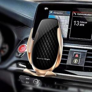 Image 5 - AZiMiYO 15W Wireless Car Charger Automatic Clamping phone Holder For iPhone 11 Pro xr Huawei Samsung Smart Phone