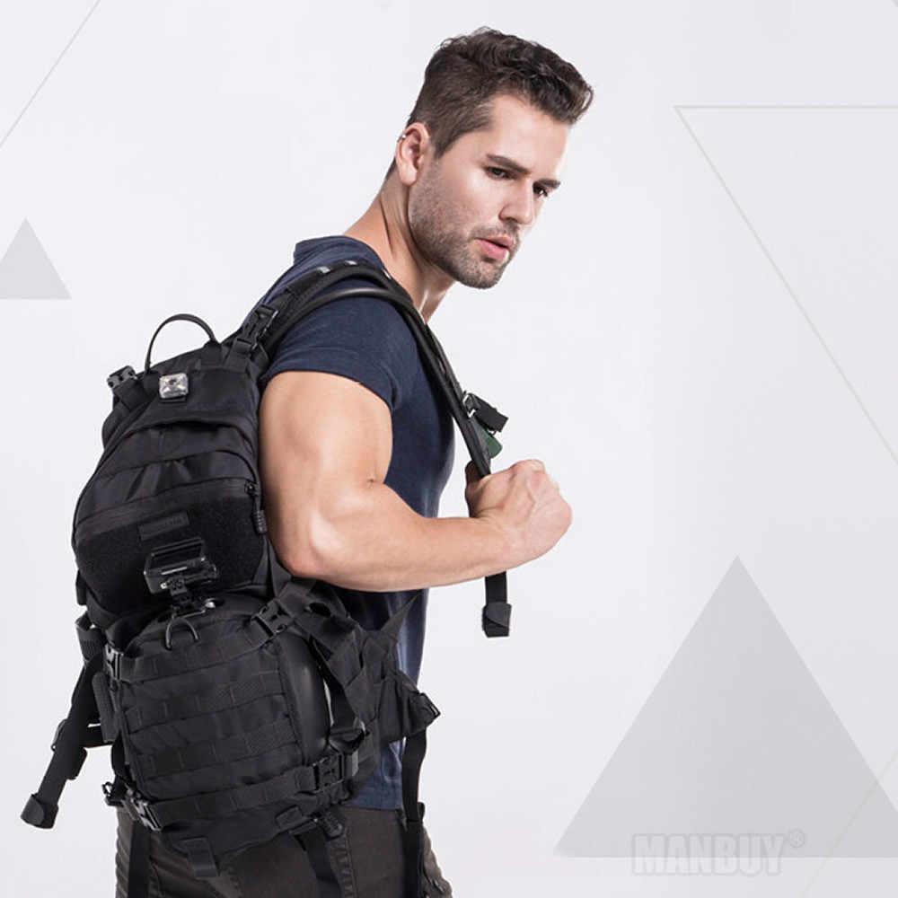 Üst Nitecore BP20 açık taktik 20L sırt çantası aşınmaya dayanıklı 1000D naylon kumaş su geçirmez kaplama adam çantası ücretsiz kargo