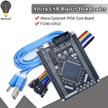 Cyclone IV FPGA EP4CE6E22C8N EP4CE6 макетная плата ALTERA Cyclone4 PLD NiosII Core Board CPLD PLD SOPC SOC ASIC Button светодиодный