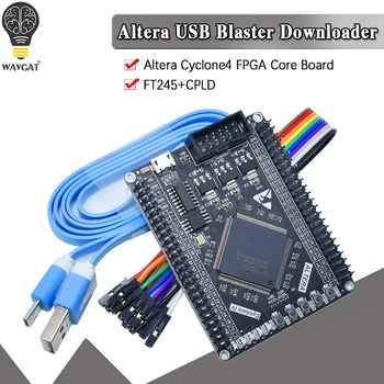 El ciclón IV FPGA EP4CE6E22C8N EP4CE6 Placa de desarrollo ALTERA Cyclone4 PLD NiosII Placa de núcleo (CPLD) CPLD PLD SOPC SOC ASIC botón LED