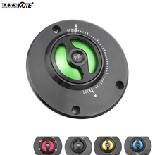 Push to Lock Keyless Fuel Tank Cap For Kawasaki ER-6N Z1000 Z1000SX Ninja 1000 Z750 Z750R Z800 Motorcycle Gas Fuel Petrol Cover