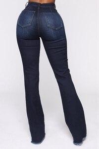 Image 5 - גבוהה מותן אבוקה ג ינס תחתון פעמון ג ינס אביב סתיו אתחול לחתוך ג ינס לנשים ג ינס סקיני ג ינס אמא רחב רגל בתוספת גודל מכנסיים