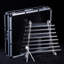 NEW crystal harp singing with beautiful and perfect sound CDEFGAB note with free aluminum alloy box