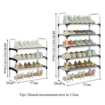 Einfach Montieren Schuh Rack Turnschuhe Stehen Stiefel Rack Tragbare Raum-saving Hause Wohnheim Stehen Halter Metall Schuh Regal Mit Handlauf