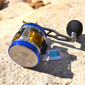 Image 3 - RYOBI Angeln Reel 10 + 1BB 6,8: 1 Baitcasting W30 Rechts Links Griff Max Drag 12KG Angeln Reel Köder Casting Salzwasser Trommel Rad