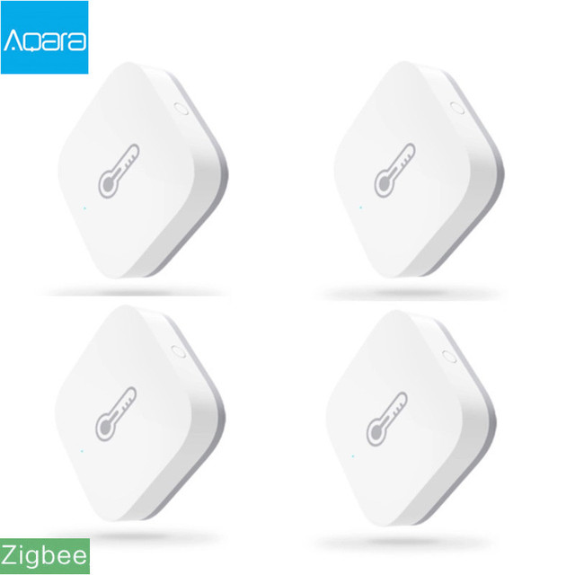 Original Aqara Smart Air Pressure Temperature Humidity Environment Sensor Work With Android IOS APP Control In stock