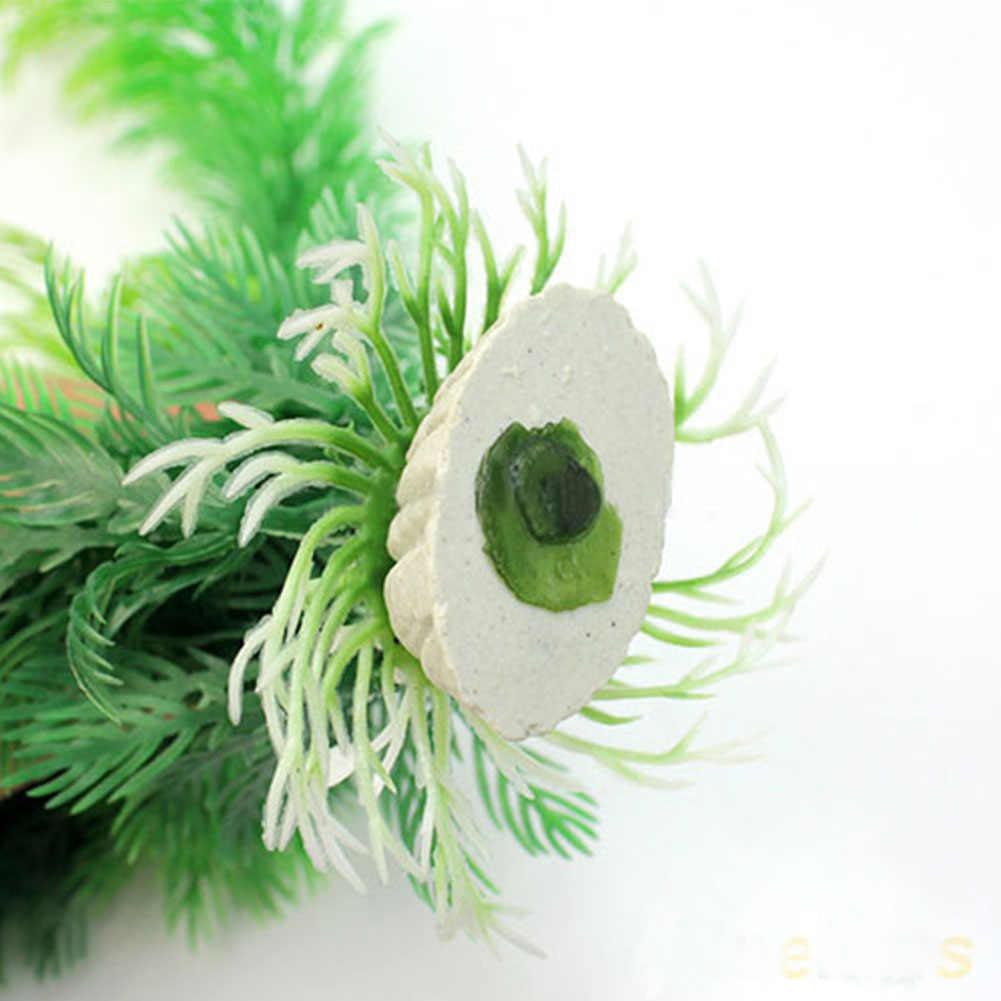 水族館草の装飾水雑草飾りプラスチック植物の水槽の装飾