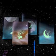 Yaratıcı aydınlık dizüstü not defteri kitap çocuklar için kore kırtasiye yaratıcı Kawaii dergi günlüğü okul ofis malzemeleri