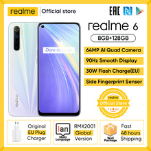 Realme Helio G90T 128GB LTE/GSM/WCDMA NFC Supercharge Bluetooth 5.0/5g wi-fi/Gorilla glass
