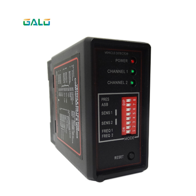Parking System Dual Channel PD232 Induction Circuit Vehicle Detector Induction Circuit Ground Best Access Control Vehicle Detect