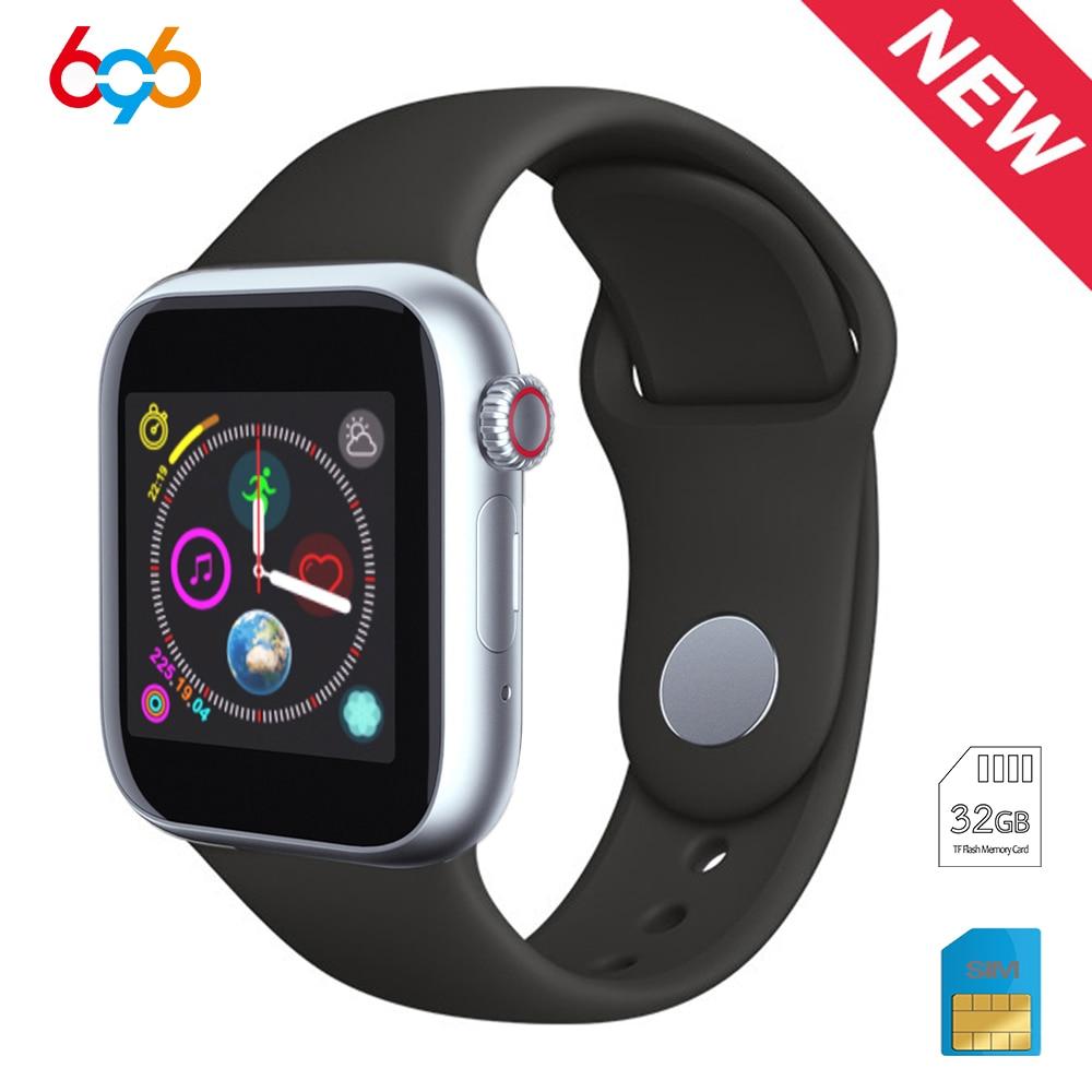 Tüketici Elektroniği'ten Akıllı Saatler'de 696 Z6 Yeni Bluetooth akıllı saat Sim Kart Spor Bluetooth IOS Android Seyretmek Telefon Saatler Kamera Müzik çalar Smartwatch title=