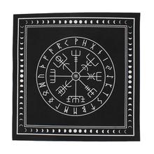 Włóknina strona główna Tarot obrus karty do gry plac Patch magik rozrywka pokrywa wróżbiarstwo ołtarz runy gra planszowa Party tanie tanio HOUSEEN Other Tkaniny Włókniny