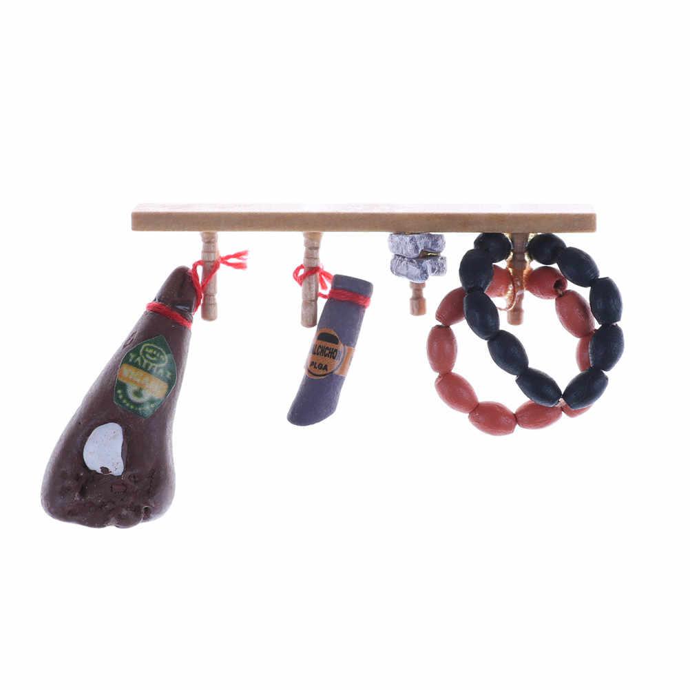 Кукольный домик миниатюрная длина 6,2 см украшение для кукольного домика аксессуары милые 1:12 игрушка кухня еда крюк для мяса