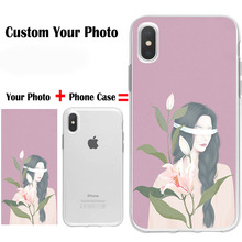 DIY Custom Phone Case Design Your Own For iPhone X XR XS Max 7 8 plus 6s 6p Create Customize With Photos Best Back Cover