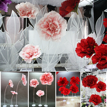 Artificial Flowers Silk Peonies Fake Wedding Party  Decoration Home Christmas