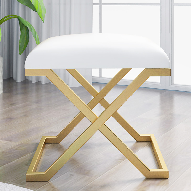 Nordic Indoor Change Shoe Bench Chair Bedroom Customized Stool Net Clothing Shop Small Sofa Test Shoes Bench Rest Stool Chairs